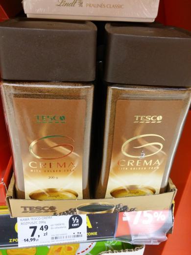 Kawa Tesco Crema 200g