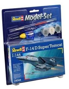 Revell F-14D Super Tomcat 1:144 za 28,22zł - zestaw z farbkami (outlet) @ Ravelo
