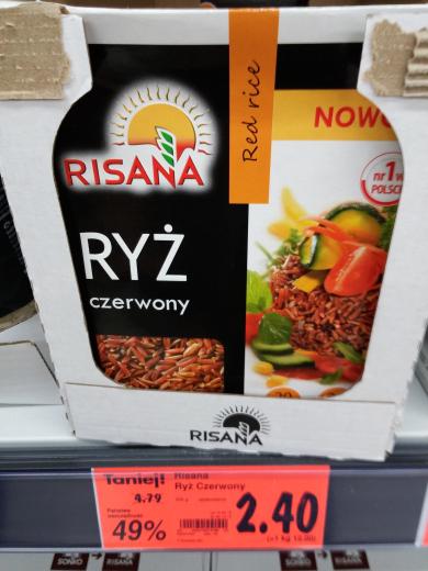 Ryż czewony/sushi 200g Kaufland