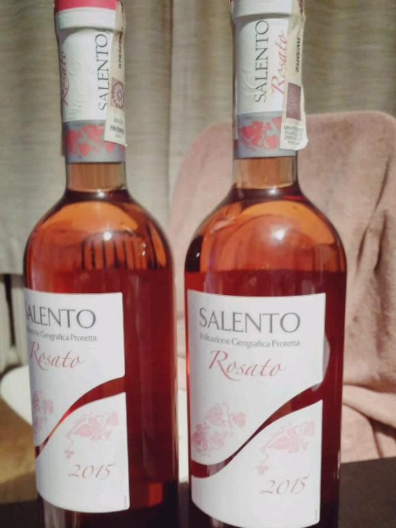 Wino wytrawne różowe Salento Lidl
