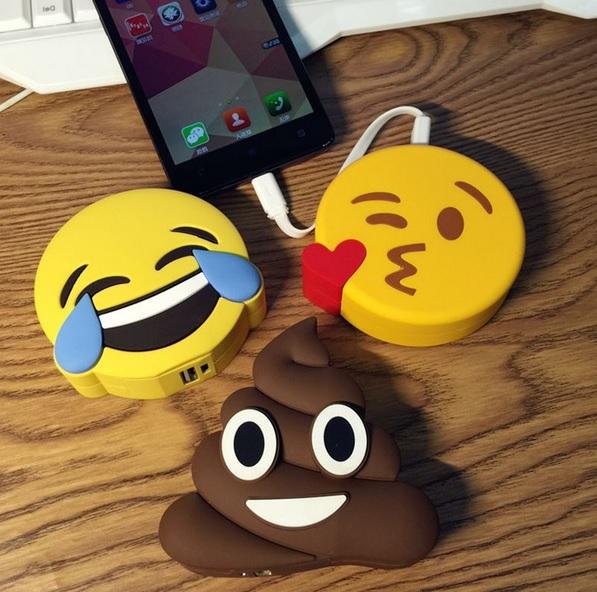 """Powerbanki """"Emoji"""" ciekawe wzory :) @ aliexpress"""
