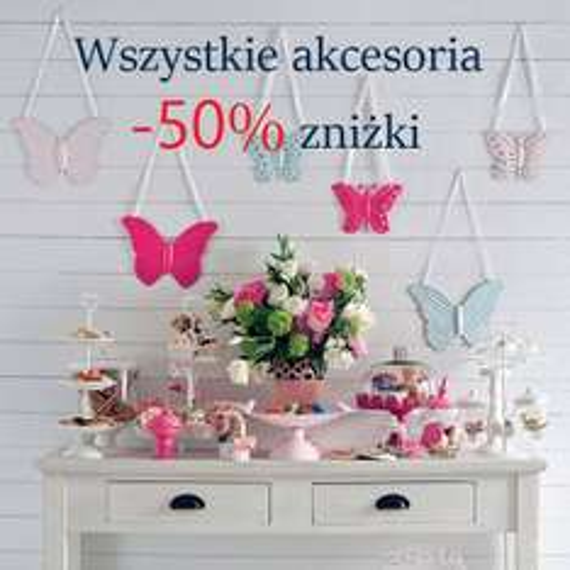 English Home, akcesoria dekoracyjne ze zniżką -50% do końca września