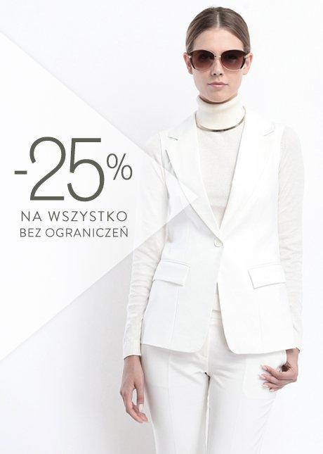 25% rabatu na wszystko + darmowa dostawa @ Top Secret