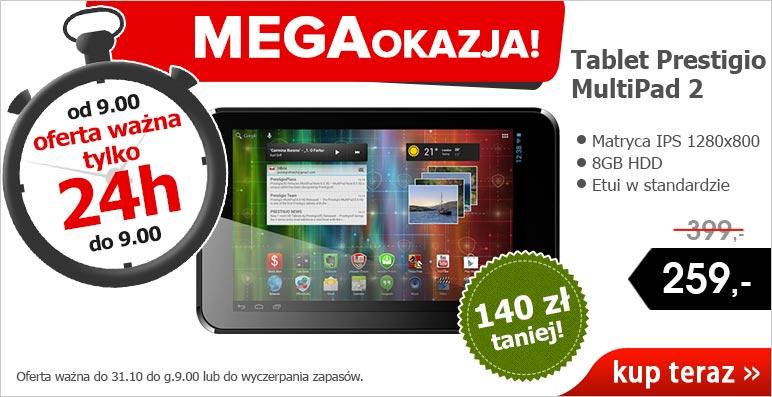 Tablet Prestigio MultiPad 2 Pro Duo 7 za 259 zł @ Agito