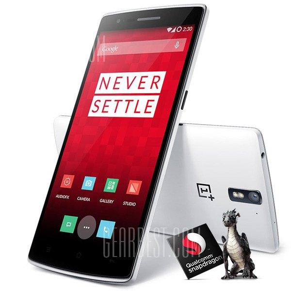 OnePlus One 16 GB za ok. 1132 zł (z kodem rabatowym) @ GearBest