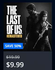 PS4 The Last Of Us™ Remastered @PlayStation Store US