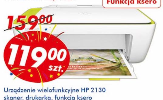 Urządzenie wielofunkcyjne HP 2130 za 119zł @ Auchan
