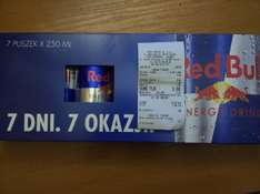 Red Bull 7x250ml za 9zł TESCO