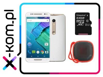 LENOVO Moto X Style + karta 64 gb + głośnik bluetooth