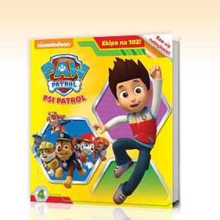 Książeczki dla dzieci za 5,90zł (Stacyjkowo, Psi Patrol, Tupcio Chrupcio i inne) - druga sztuka -50% @ Biedronka