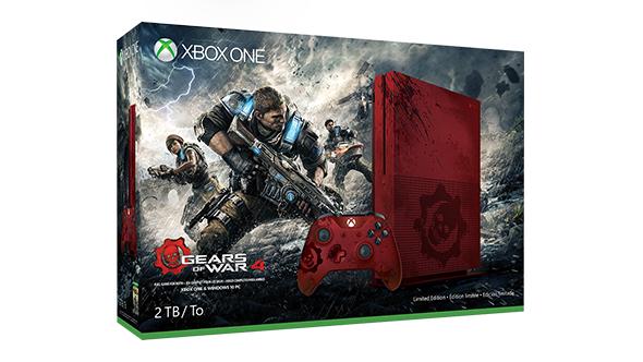Xbox One S 2TB (limitowana edycja: Gears of War 4) + dodatkowy pad za ok. 1985zł @ Microsoft Store