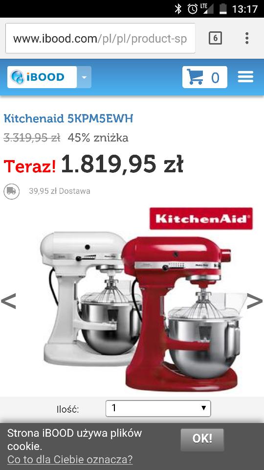 KitchenAid 5KPM5EWH