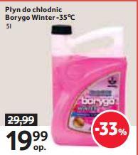 Borygo Winter 5L za 19,99zł (50% taniej) @ Tesco