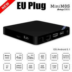 Mini M8S TV Box - Android 5.1 2GB RAM 8GB ROM gearbest.com