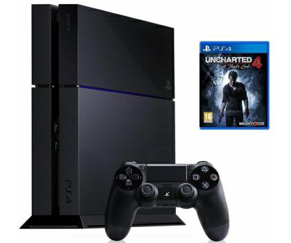 Sony PlayStation 4 1TB + Uncharted 4 @x kom