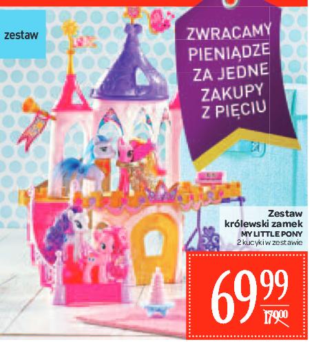 Zestaw królewski zamek My little pony taniej o ponad 100zł @ Carrefour
