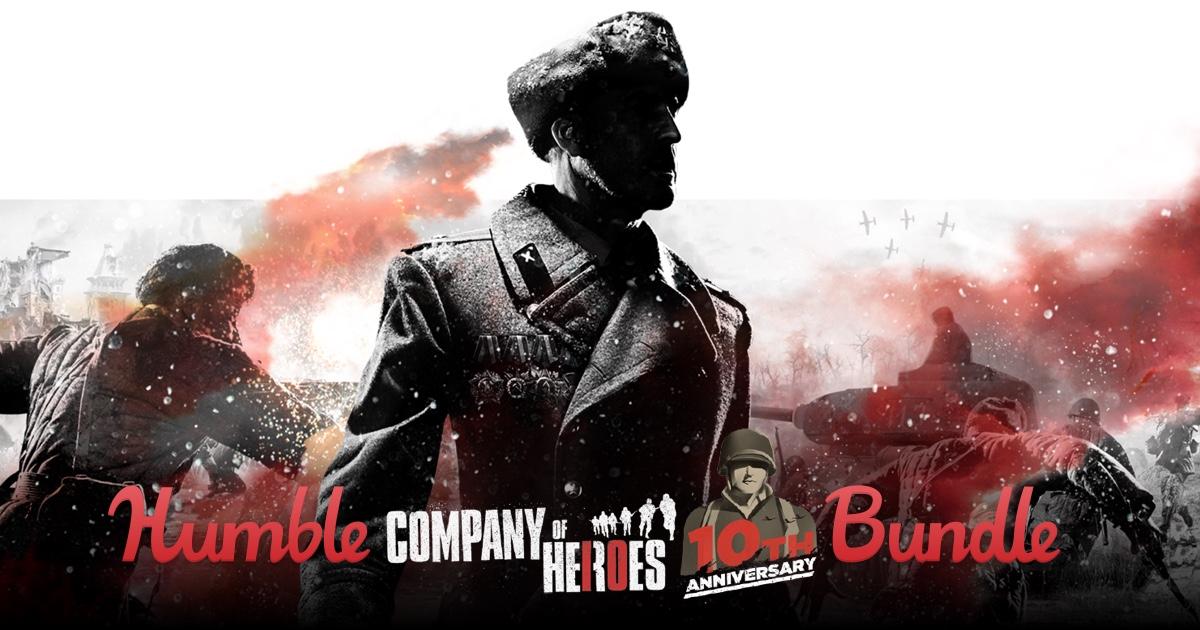 Zestawy gier z serii Company of Heroes od 4zł@ Humble Bundle