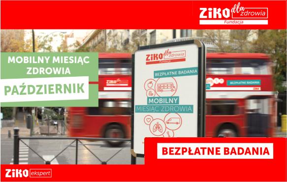 Bezpłatne badania profilaktyczne @ Ziko Apteka