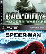 Kolejna obniżka cen - Call of Duty 4: Modern Warfare, Spider-Man: Edge of Time na PS3 za 11,99 zł @ Empik