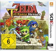 The Legend of Zelda: TriForce Heroes (3DS) za ok. 82zł @ Amazon.de