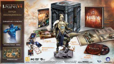 Heroes VII: Edycja Kolekcjonerska [PC] (Figurka, artbook i inne) za 103,57zł z dostawą @ OtoSklep24
