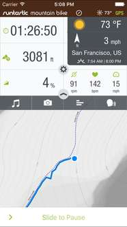 Runtastic Mountain Bike Offroad Route Tracker za darmo na iPhona