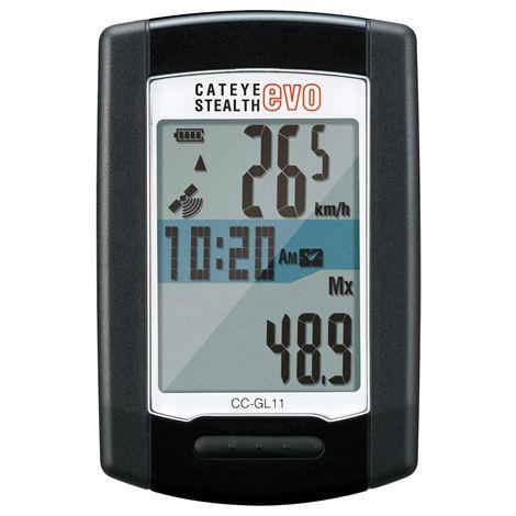 Komputer rowerowy - Cateye Stealth Evo GPS CC-GL11