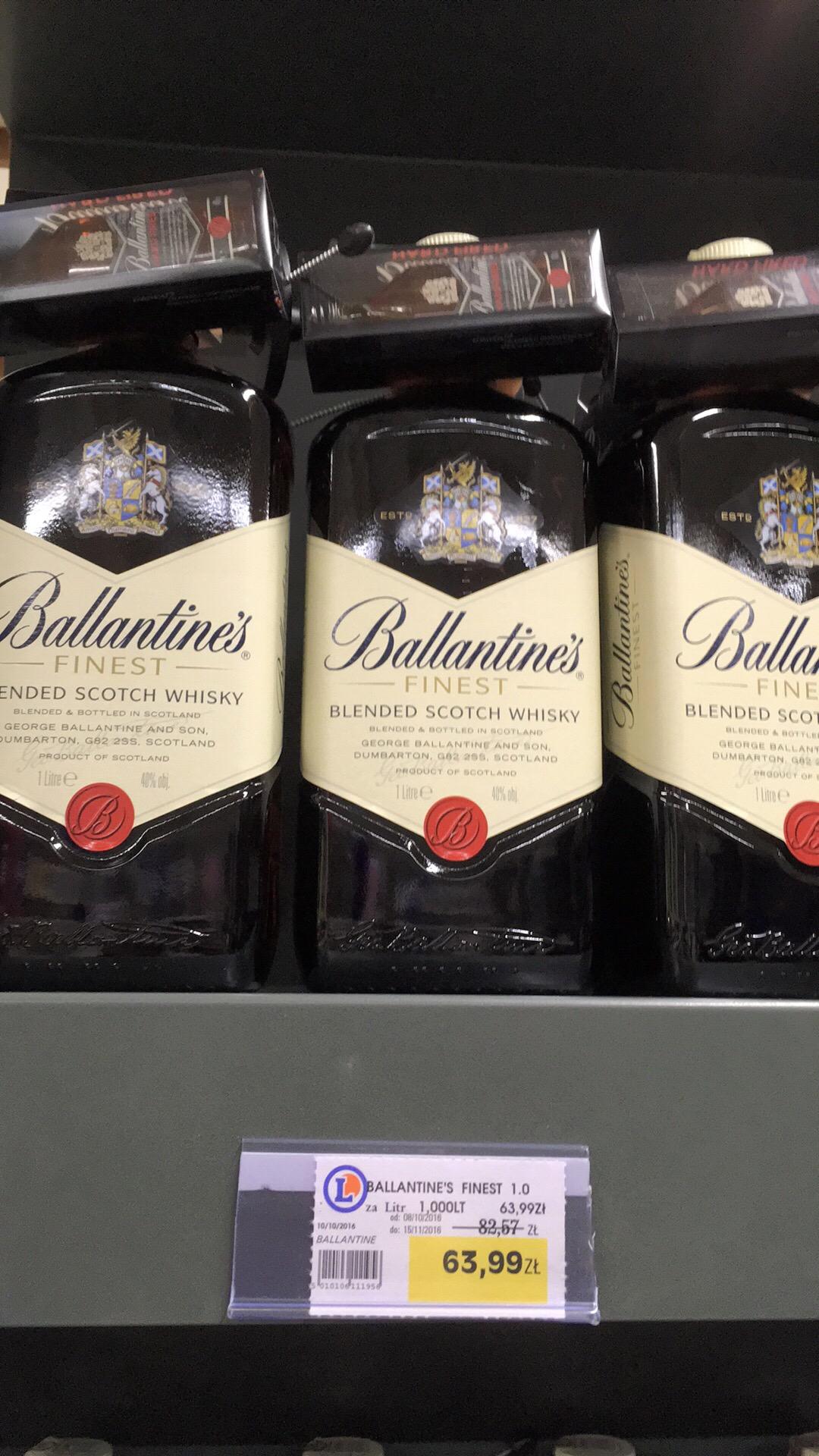 Ballantine's 1litr za 63,99