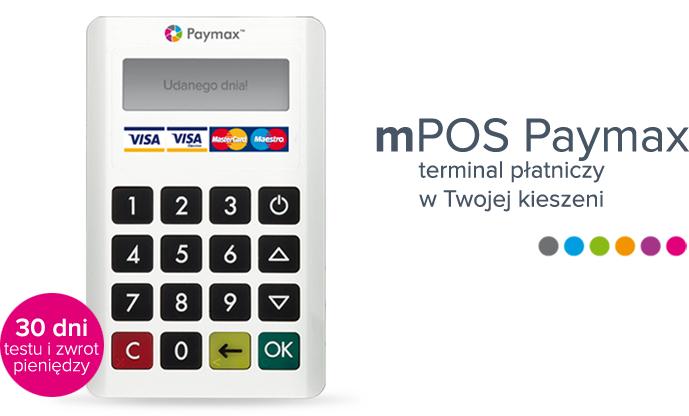 Mobilny terminal płatniczy (Visa/Mastercard) bez abonamentu