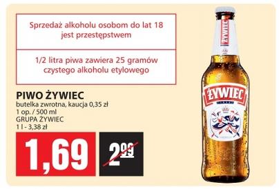 Piotr i Paweł - Piwo Żywiec  1,69 zł