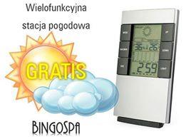 Stacja pogodowa do zamówienia za minimum 70zł gratis @ BingoSpa