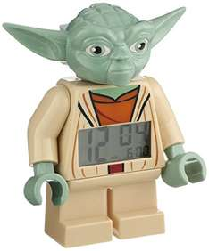 LEGO - budzik, zegarek (Yoda,Darth Vader, Batman i inne) @ Amazon.uk