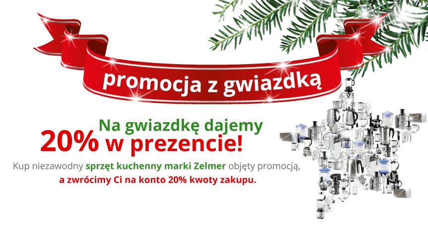 Świąteczna promocja marki Zelmer i rabaty 20% na sprzęt kuchenny