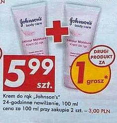 #AUCHAN: Krem do rąk Johnson`s 24-Godzinne Nawilżanie