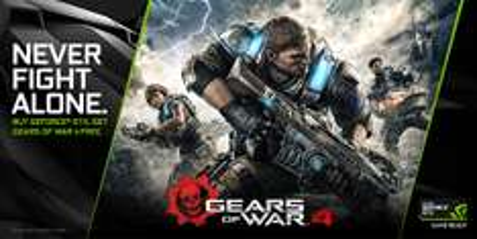 Gears of War 4 (Windows, Xbox One) za darmo przy zakupie kart graficznych GTX 1080, GTX 1070 (także w laptopach!)