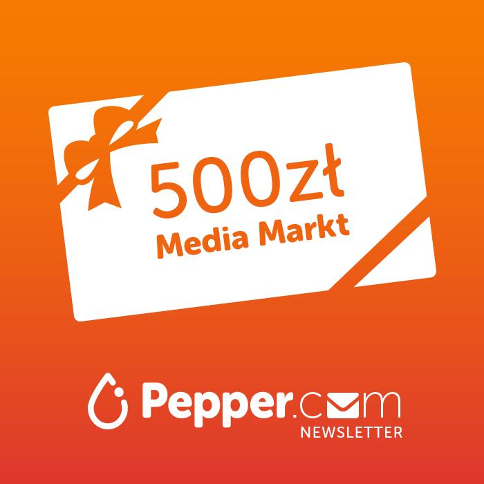 KONKURS - WYGRAJ kartę podarunkową o wartości 500zl do wydania w Media Markt!