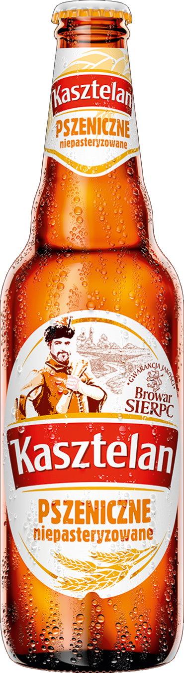 Piwo Kasztelan niepasteryzowane pszeniczne 0,5 l @Kaufland