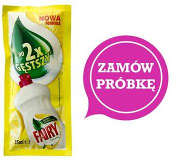 DARMOWA próbka Fairy Cytryna 35 ml @ Everydayme
