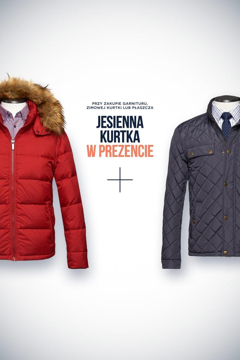 Jesienna kurtka GRATIS przy zakupie kurtki zimowej, płaszcza lub garnituru @ Bytom