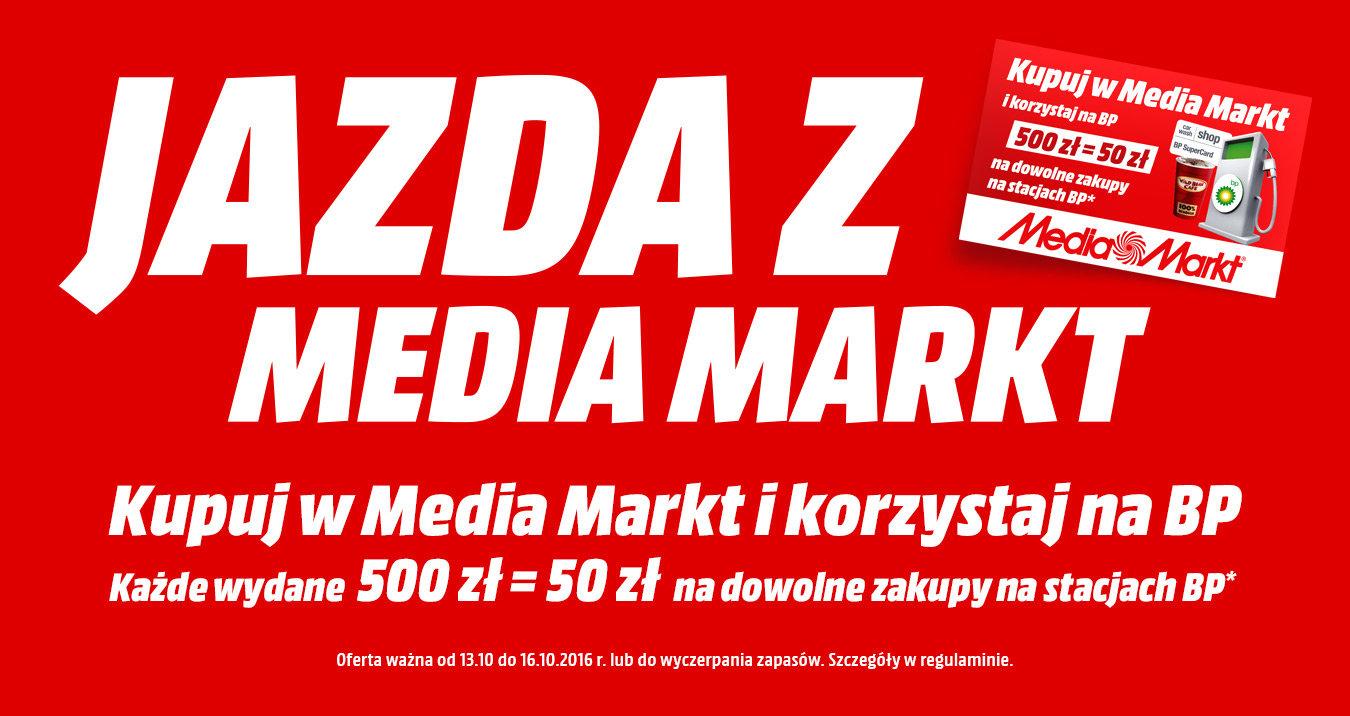 Karta BP 50PLN za każde 500PLN wydane na zakupy @ Media Markt