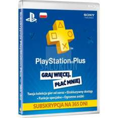 Playstation Plus 365 dni