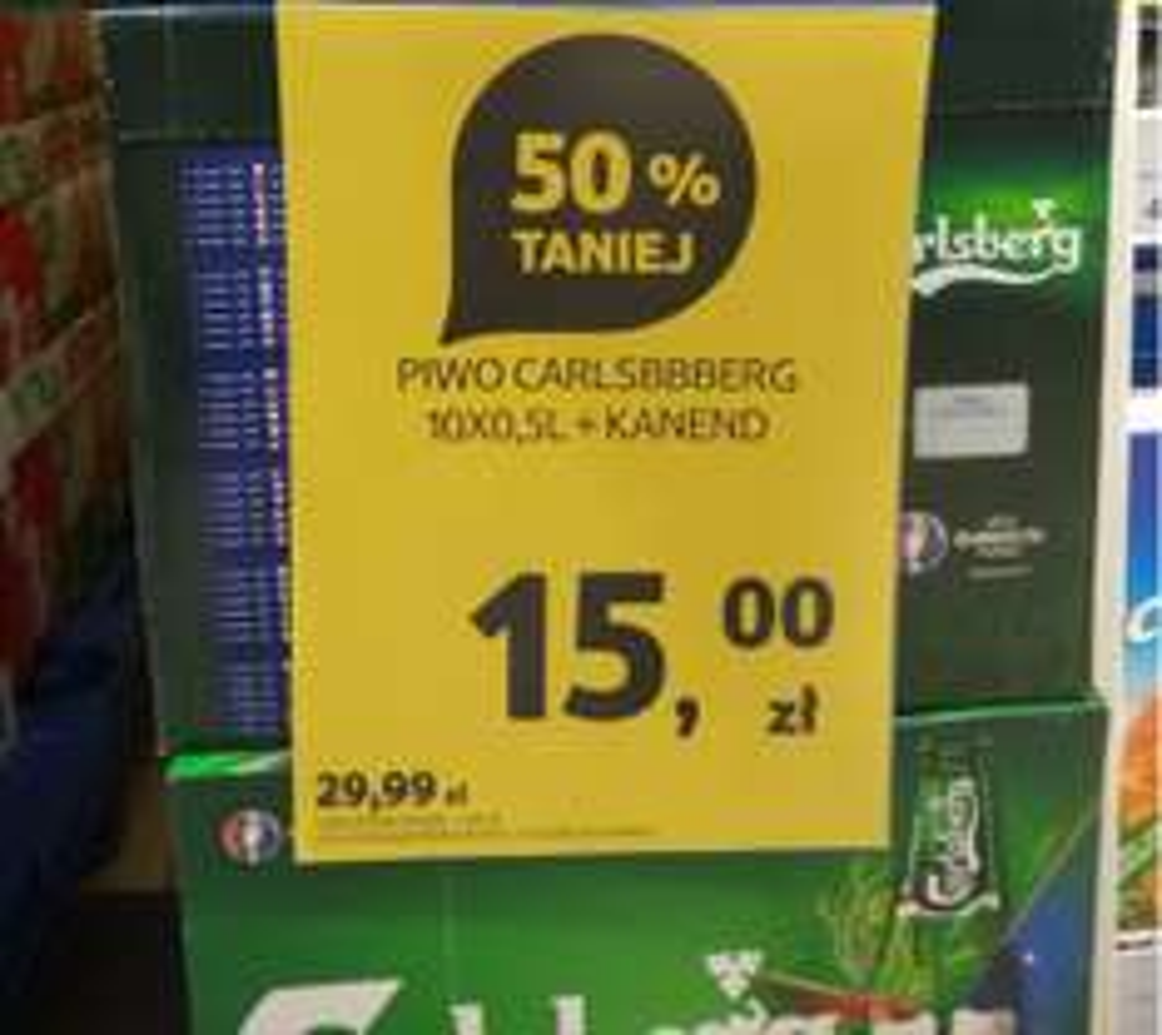 10-cio pak Carlsberga w Tesco