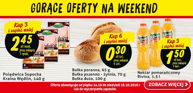 Gorące oferty na weekend @Biedronka