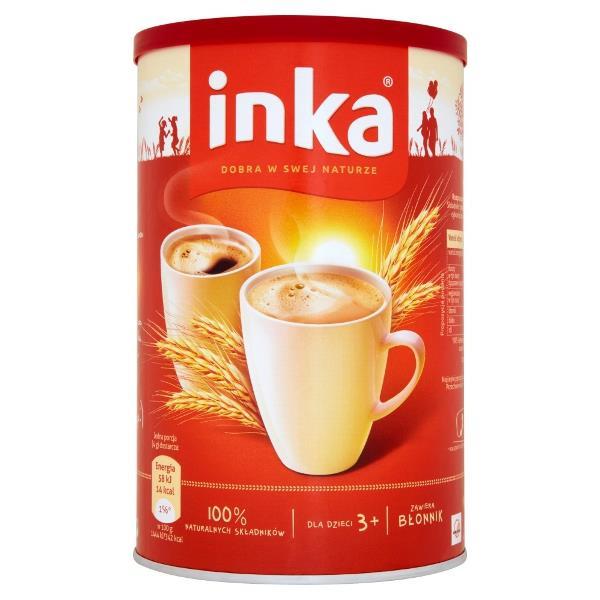 Kawa zbożowa inka 200g w puszce za 3,99PLN @ Biedronka