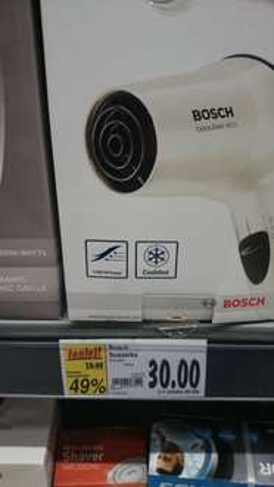Suszarka do włosów Bosch KAUFLAND