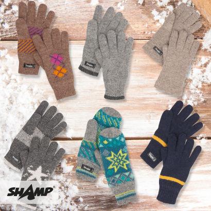 Wełniane rękawiczki damskie i męskie za 14,99zł @ Aldi