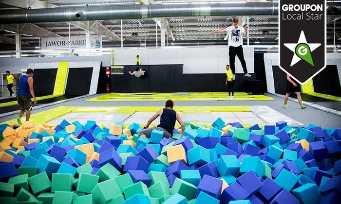 Jump Arena od 17,99zł za wejście dla dwóch osób (Poznań/Toruń) @ Groupon