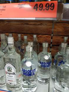 wódka  absolut 1L @ Lidl