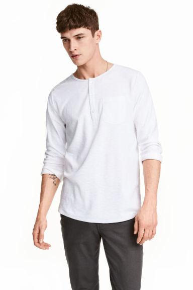 Bluzka z długim rękawem za 17,90zł (4 kolory, pełna rozmiarówka) @ H&M