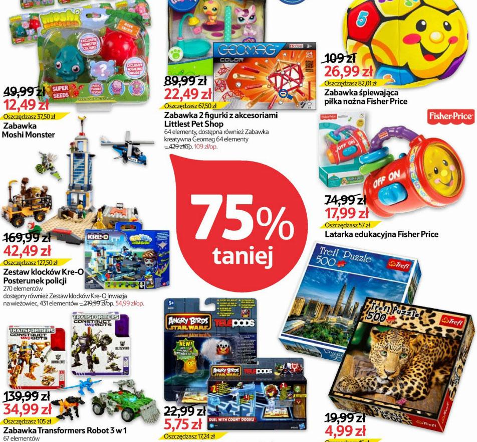 Dzień Wielkiego Łupu (np.: zestaw puzzli 500 elementów za 4,99 zł; Angry Birds Telepods za 5,75 zł) @ Tesco